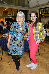 Left to right, LADY ANNE LAMBTON and MIRANDA FANE at a lunch in aid of the charity African Solutions to African Problems (ASAP) held at the Royal Horticultural Hall, Vincent Square, London on 19th May 2016.