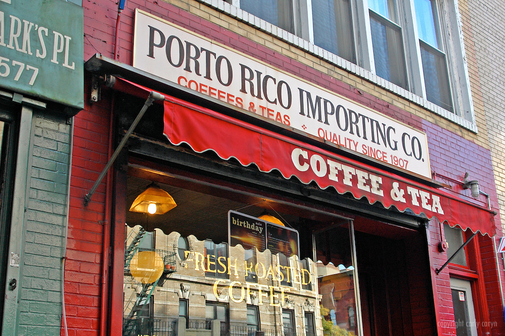 Porto Rico Coffee & Tea