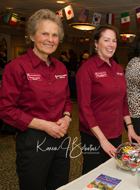 Penny Pitou Travel 40th year in business at the Travel Trade Show Margate.  Karen Bobotas for the Laconia Daily Sun