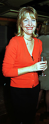 MISS ANNE DUNHILL former close friend of Sir Jeremy Isaacs, at a party in London on 28th October 1999.MYG 49