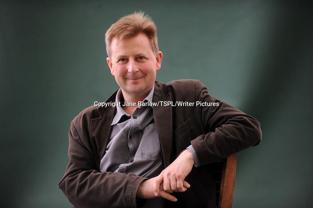 Julian Baggini, British philosopher and author, at the Edinburgh International Book Festival, August 22nd, 2011.