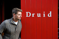 Keith Duffy who started his first day of rehearsals  at Druid for their production of Big Maggie  run in theatres all over Ireland from November 11 till February 2012. Photo:Andrew Downes.
