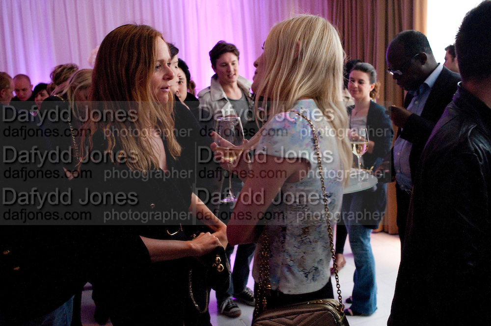 STELLA MCCARTNEY; KATE BOSWORTH, Told, The Art of Story by Simon Aboud. Published by Booth-Clibborn editions. Book launch party, <br /> St Martins Lane Hotel, 45 St Martins Lane, London WC2. 8 June 2009