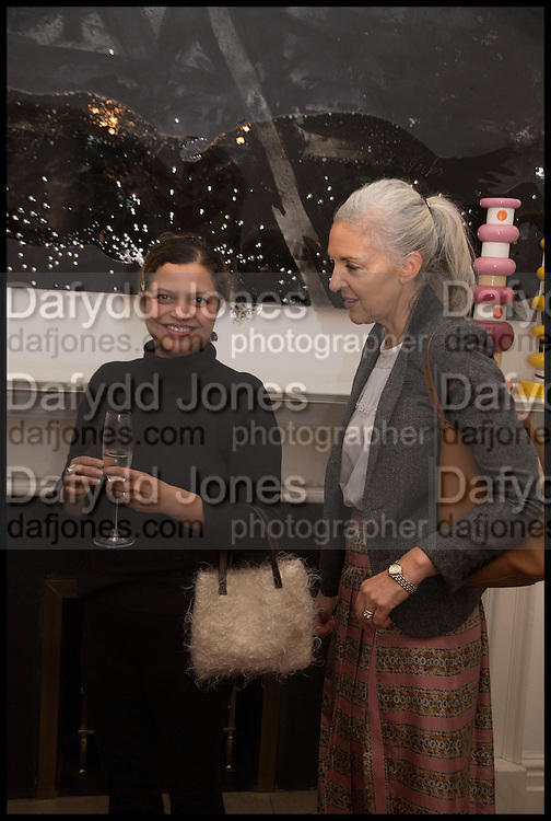 TANYA LING; RUTH CHAPMAN, The Launch of OSMAN the Collective No.3, hosted by Valeria Napoleone, Kensington. 15 May 2014.