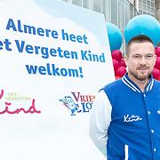 NLD/Almere/20170831 - Bekendmaking Het Huis van stichting Het Vergeten Kind, Johnny de Mol