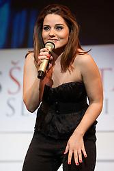 during event Miss Sports of Slovenia 2012, on April 21, 2012, in Festivalna dvorana, Ljubljana, Slovenia. (Photo by Urban Urbanc / Sportida.com)