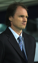 Branko Zupan at the fourth round qualification game of 2010 FIFA WORLD CUP SOUTH AFRICA in Group 3 between Slovenia and Northern Ireland at Stadion Ljudski vrt, on October 11, 2008, in Maribor, Slovenia.  (Photo by Vid Ponikvar / Sportal Images)