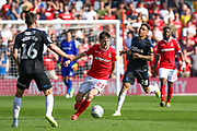 Joe Lolley (23) runs forward during the EFL Sky Bet Championship match between Nottingham Forest and Middlesbrough at the City Ground, Nottingham, England on 22 April 2019.