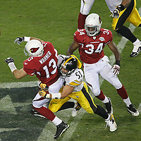 NFL Superbowl 43 between the Arizona Cardinals and the Piyysburg Steelers at Raymond James Stadium in Tampa, Florida on February 1, 2009. The Steelers won the game 27-23.  .Photo Credit: Alex Menendez