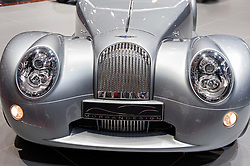 Morgan Aero supersports car on display at Geneva Motor Show 2011 Switzerland