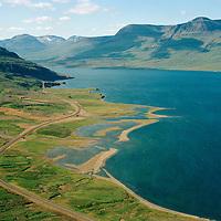 Eyri séð til vesturs, Fjarðabyggð áður Reyðarfjarðarhreppur / Eyri viewing west, Fjardabyggd former Reydarfjardarhreppur.
