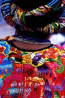 Guatemala, San Martin Sacatepequez, Fiesta pour la saint Martin, Procession. //Guatemala, San Martin Sacatepequez, Fiesta for the San martin