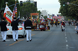 The 2013 Colmo del Rodeo Parade gets under way near Salinas High School on Saturday night.