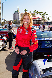 LONG BEACH, CA - APRIL 07   Actress Tricia Helfer is a Canadian model turned actress who recently played the lead in SyFy&rsquo;s miniseries &ldquo;Ascension.&rdquo; She has also starred in television shows such as &ldquo;Killer Women,&rdquo; &ldquo;The Firm&rdquo; and &ldquo;Burn Notice.&rdquo;<br /> Her avid fans, however, know her best for her long running role as the humanoid, Cylon &lsquo;Number Six&rsquo; in &ldquo;Battlestar Galactica.&rdquo; at the 2015 Toyota Celebrity/PRO Press/Media Day in Long Beach, CA. 2015 April 7. Byline, credit, TV usage, web usage or linkback must read SILVEXPHOTO.COM. Failure to byline correctly will incur double the agreed fee. Tel: +1 714 504 6870.