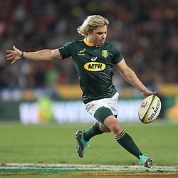 Faf de Klerk of South Africa during the 2018 Castle Lager Incoming Series 1st Test match between South Africa and England at Emirates Airline Park,<br /> Johannesburg.South Africa. 09,06,2018 Photo by (Steve Haag Sports)