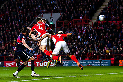 Krystian Bielik of Charlton Athletic scores a goal to make it 1-0 - Mandatory by-line: Robbie Stephenson/JMP - 17/05/2019 - FOOTBALL - The Valley - Charlton, London, England - Charlton Athletic v Doncaster Rovers - Sky Bet League One Play-off Semi-Final 2nd Leg