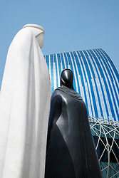 Sculpture called Together by Lufti Romhein in Dubai United Arab Emirates