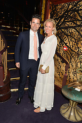 LEO FENWICK and HOLLY DUNLAP at a party to celebrate the launch of the Dee Ocleppo 2015 Pre Fall Collection benefiting the Walkabout Foundation held at Loulou's, 5 Hertford Street, London on 16th June 2015.