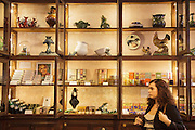 "The shop ""A vida portuguesa"" (Portuguese Life) in Lisbon's Chiado district, sells vintage portuguese goods that range from original ceramics from Rafael Bordalo Pinheiro creations, to soaps, notebooks and canned fish."