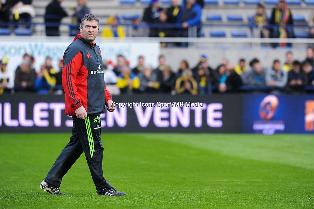 Anthony FOLEY - 14.12.2014 - Clermont / Munster - European Champions Cup <br /> Photo : Jean Paul Thomas / Icon Sport