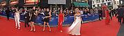 Samia Ghadie, Minnie Driver, tamzin Outwaite, Melinda Messenger, TV Bafta Awards, London Palladium. 13 April 2003. © Copyright Photograph by Dafydd Jones 66 Stockwell Park Rd. London SW9 0DA Tel 020 7733 0108 www.dafjones.com