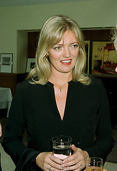 MISS ANNABELLE HESELTINE daughter of Michael Heseltine the former Tory Deputy Prime Minister, at a party in London on 11th June 1997.LZG 47