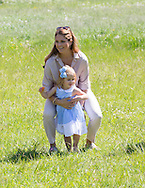 Visby , 03-06-2016 <br /> <br /> Visit to Gotland of Princess Madeleine and Christopher O'Neill and their daughter Princess Leonore.<br /> <br /> <br /> COPYRIGHT:ROYALPORTRAITS EUROPE/BERNARD RUEBSAMEN