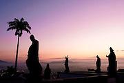 Congonhas_MG, Brasil...Os profetas no Santuario de Bom Jesus do Matozinhos, com esculturas do mestre Aleijadinho (Antonio Francisco Lisboa)...The prophets in the Bom Jesus do Matozinhos Sanctuary with sculptures of the master Aleijadinho (Antonio Francisco Lisboa)...Foto: LEO DRUMOND / NITRO
