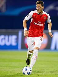 Mesut Ozil #11 of Arsenal F.C. during football match between GNK Dinamo Zagreb, CRO and Arsenal FC, ENG in Group F of Group Stage of UEFA Champions League 2015/16, on September 16, 2015 in Stadium Maksimir, Zagreb, Croatia. Photo by Urban Urbanc / Sportida