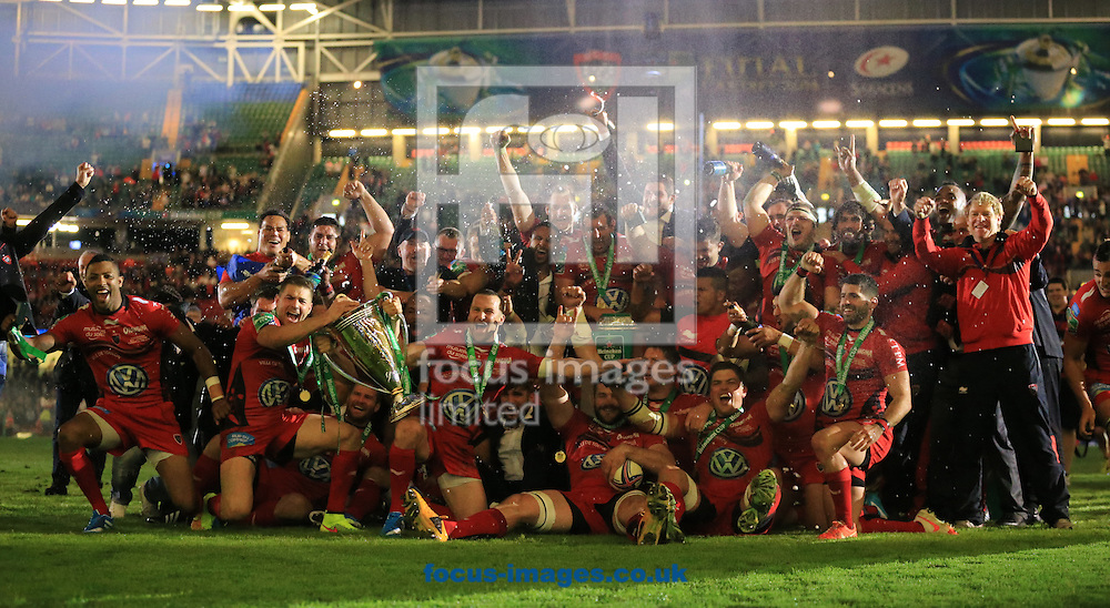 during the Heineken Cup Final at the Millennium Stadium, Cardiff<br /> Picture by Michael Whitefoot/Focus Images Ltd 07969 898192<br /> 24/05/2014