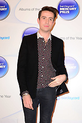 Mercury Prize. <br /> Nick Grimshaw attends the Barclaycard Mercury Prize at The Roundhouse, London, United Kingdom. Wednesday, 30th October 2013. Picture by Nils Jorgensen / i-Images