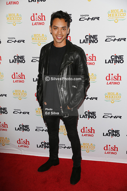 LOS ANGELES, CA - JUNE 7 Patrick Davis attends the 9th Annual Hola Mexico Film Festival Opening Night at the Regal LA LIVE in downtown Los Angeles, on June 7, 2017 in Los Angeles, California. Byline, credit, TV usage, web usage or linkback must read SILVEXPHOTO.COM. Failure to byline correctly will incur double the agreed fee. Tel: +1 714 504 6870.