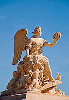 Palace of Versailles. Statue of an angel.