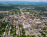 Aerial July 2016 - Downtown Harrisonburg Aerial - July 2016