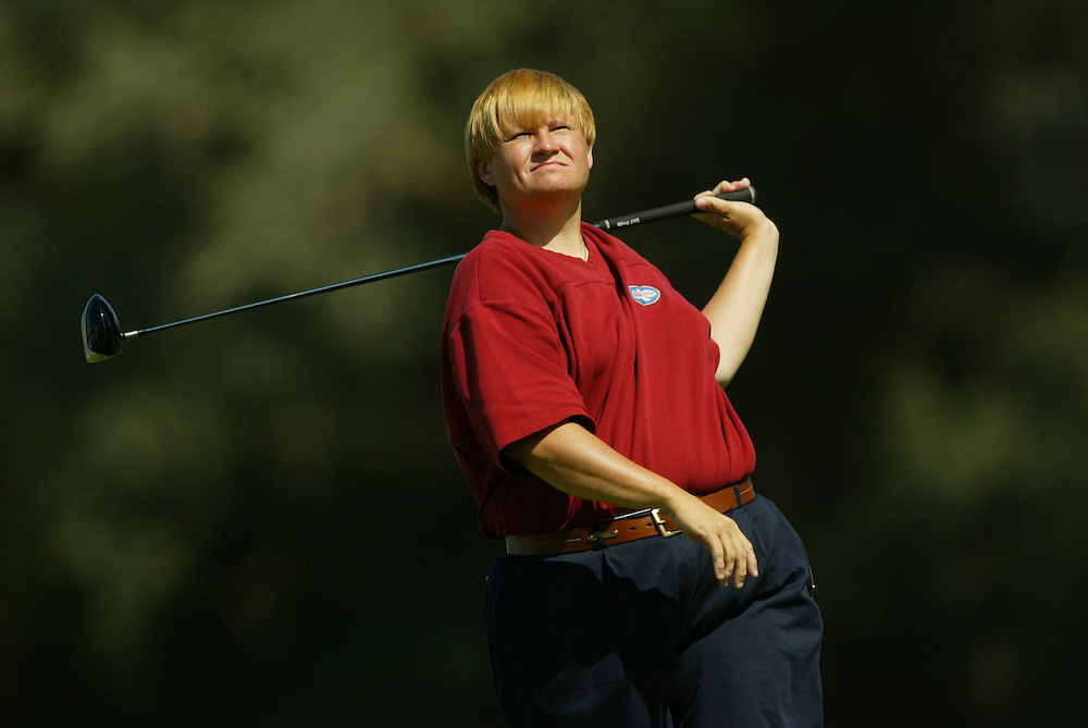Becky Iverson..2004 Kraft Nabisco Championship.MIssion Hills CC.Rancho Mirage, CA .Second Round.Friday, March 26 2004..photograph by Darren Carroll