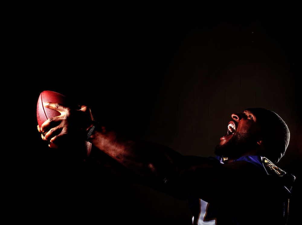 photo by Matt Roth.for the Sporting News.Thursday, October 15, 2009..Ray Lewis is photographed at the Ravens Training Facility.