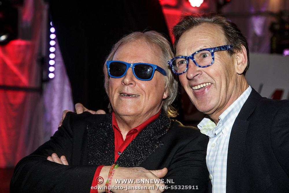 NLD/Hilversum/20150102 - Top40 viert 50 jarig bestaan, Eddy Ouwens en ..........