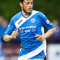 St Johnstone FC… Season 2016-17<br />Murray Davidson<br />Picture by Graeme Hart.<br />Copyright Perthshire Picture Agency<br />Tel: 01738 623350  Mobile: 07990 594431