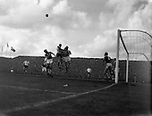 1957 - Ireland v England, World Cup group qualifier at Dalymount Park