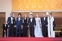 The cast at the gala screening for the film Graduation (Bacalaureat) at the 69th Cannes Film Festival, Thursday 19th May 2016, Cannes, France. Photography: Doreen Kennedy