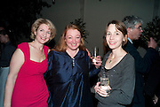 JANE THYNNE; AMANDA CRAIG; STEPHANIE CROSS, Party for Perfect Lives by Polly Sampson. The 20th Century Theatre. Westbourne Gro. London W11. 2 November 2010. -DO NOT ARCHIVE-© Copyright Photograph by Dafydd Jones. 248 Clapham Rd. London SW9 0PZ. Tel 0207 820 0771. www.dafjones.com.