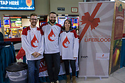 KELOWNA, CANADA - FEBRUARY 14:  Canadian Blood Services at the Kelowna Rockets game on February 14, 2018 at Prospera Place in Kelowna, British Columbia, Canada.  (Photo By Cindy Rogers/Nyasa Photography,  *** Local Caption ***