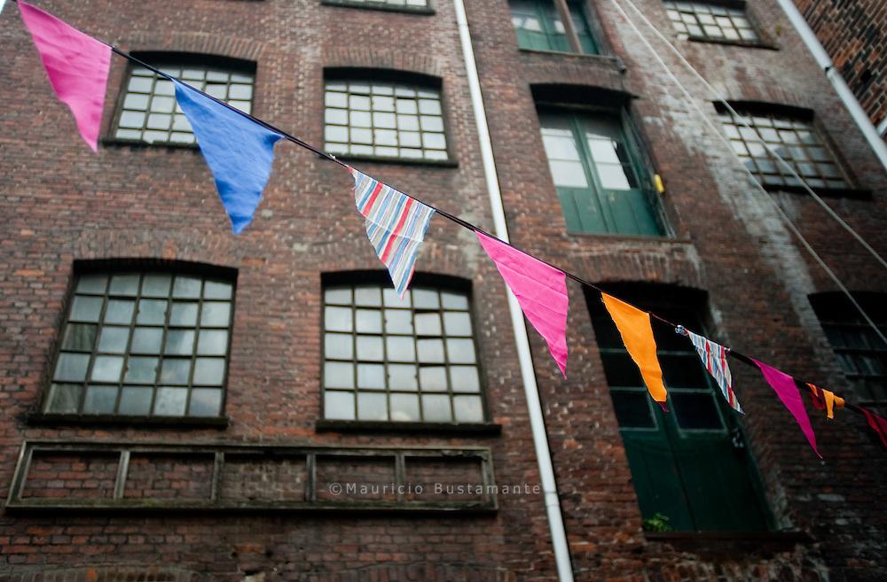 Vor einem Jahr wurde das Gängeviertel von Künstlern besetzt, in der alten Fabrik soll nun ein kultureller Ort für alle Bürger entstehen.