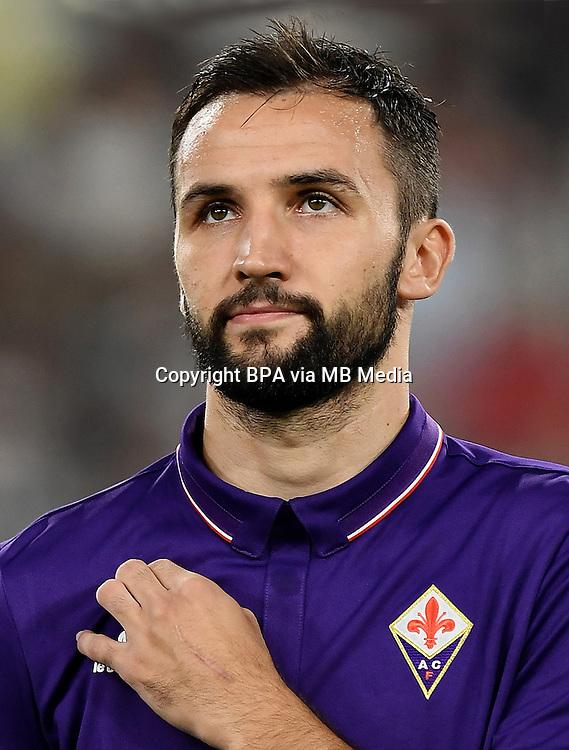 Italian League Serie A -2016-2017 / <br /> ( ACF Fiorentina ) - <br /> Milan Badelj