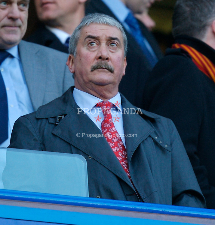 LONDON, ENGLAND - Sunday, February 10, 2008: Liverpool's Honorary Life President David Moores during the Premiership match against Chelsea at Stamford Bridge. (Photo by David Rawcliffe/Propaganda)
