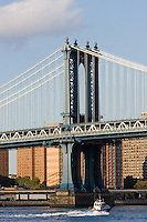 Manttan Bridge in New York October 2008