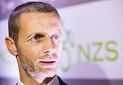 Aleksander Ceferin, president of NZS during traditional New Year Gala Night Reception of NZS - Football Association of Slovenia, on December 14, 2015 in Kongresni center, Brdo pri Kranju, Slovenia. Photo by Vid Ponikvar / Sportida