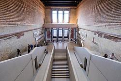 Interior of Neues Museum  on Museum Island , Museumsinsel, Berlin, Germany