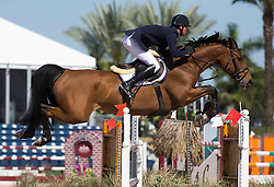 Deusser Daniel (GER) - Evita van de Veldbalie<br /> Winter Equestrian Festival<br /> Wellington - Florida  2013<br /> © Hippo Foto - Cealy Tetly