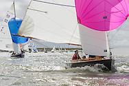 England, Burnham-on-Crouch. 25th August 2012. Burnham Week. Royal Burnham One Design fleet. Onyx, RBOD11
